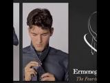 Как завязать галстук простым узлом.