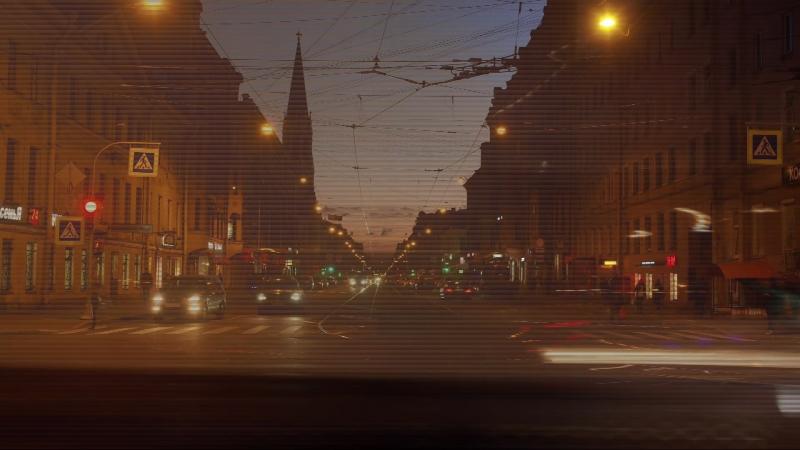 Time-lapce Sain-Petersburg