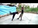 Элементы акробатики в мужской пляске Сибирская застава 2016