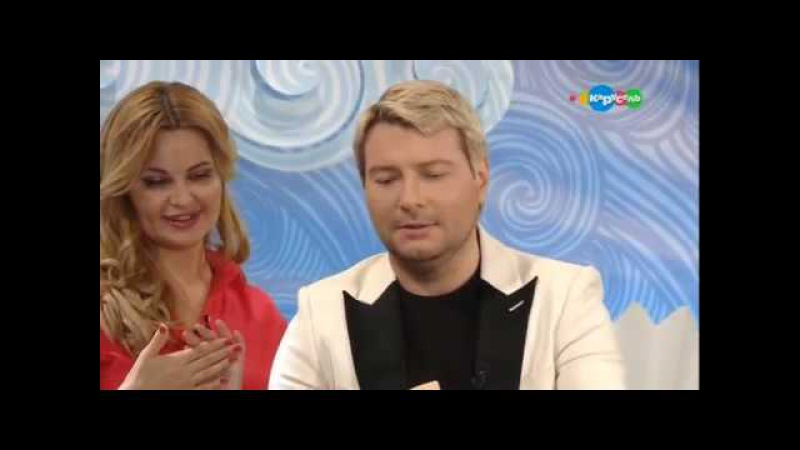 Николай Басков в гостях у Хрюши и Марины Яковлевой