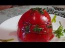 Ароматные остренькие помидорки на закуску