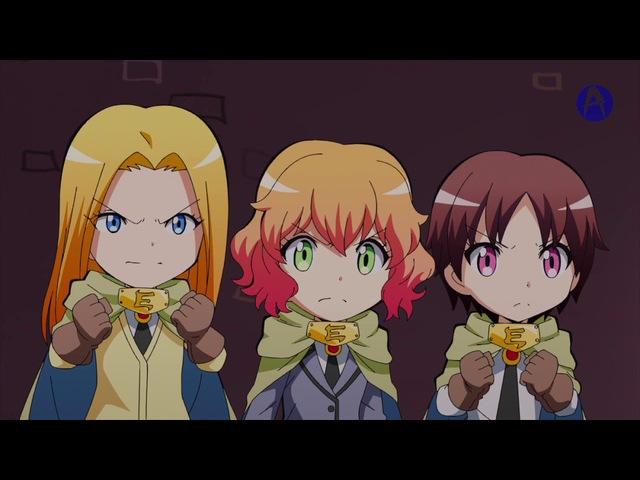 Квест Коро сэнсэя Koro sensei Quest 3 серия русская озвучка AniMur Shut