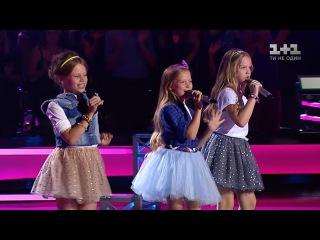 "Варвара Кошевая VS Ева Аш VS Тали Купер  - ""Маленькая девочка""  - #ГолосДти"
