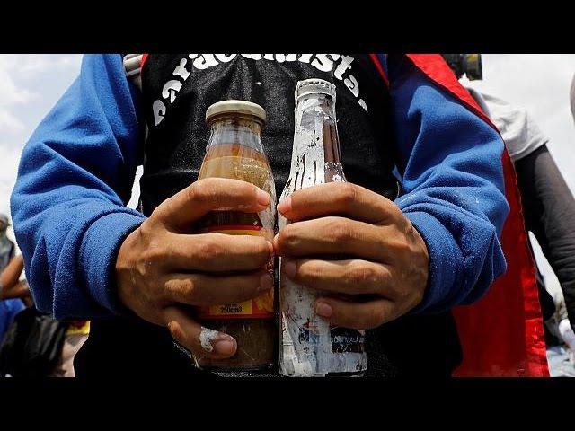 Венесуэльские манифестанты начали применять биологическое оружие