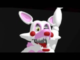 FNAF Mangle and Toy Chica dancing and song