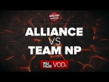 Alliance vs Team NP DreamLeague Season 6, game 1