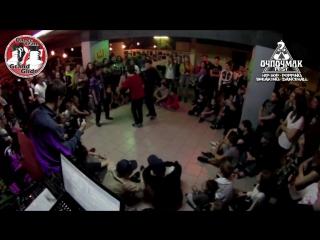 ОЧПОЧМАК fest vol2. hip-hop. Ильшат vs Коля vs АделяLife
