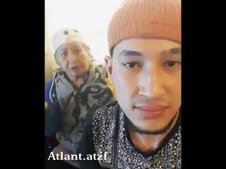 Внук зачитал рэп с бабушкой (#NR)