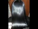 Елена до и после ботокса волос и стрижки горячей бритвой