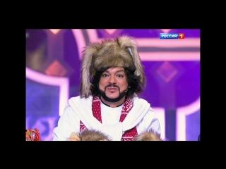 Филипп Киркоров и Николай Басков в новогоднем выпуске программы