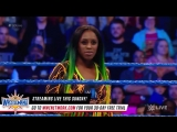 WWE SmackDown Live Naomi Enters the WrestleMania Title Match