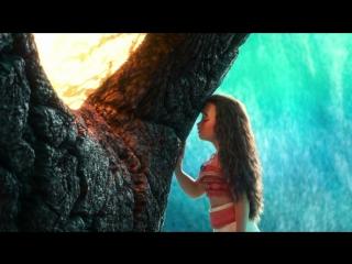 Моана и Тафити Возвращения сердца Морей Моана Дисней Отрывок из мультфильма Moana США