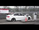 Team Schirmer 3x BMW M3 E92 on the Nürburgring