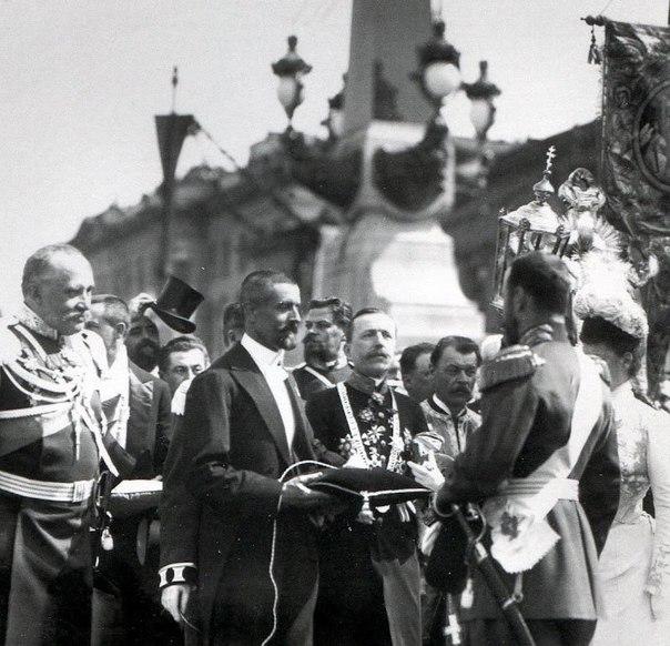 Торжественное открытие Троицкого моста в Санкт-Петербурге, 1903