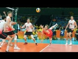 TOP 10 Double Dig - Best Volleyball Actions