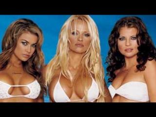 Carmen Electra, Pamela Anderson  Yasmine Bleeth - FHM Shoot