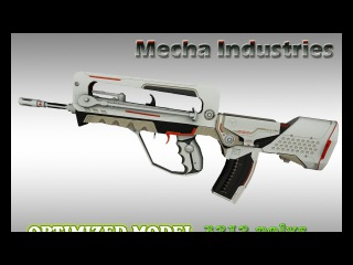 CS:GO Famas Mecha Industries HD skin for cs 1.6