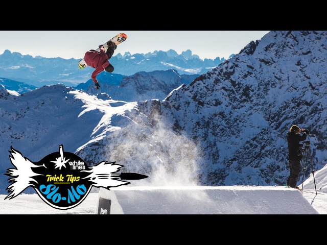 Slo Mo Trick Tips – How To Backside Corked 540 On A Snowboard