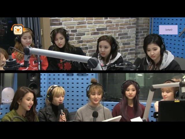 161104 박소현의 러브게임 - 트와이스 / Love Game with TWICE