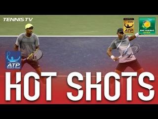 Hot Shot: Ram And Klaasen Show Fast Hands In Indian Wells 2017