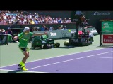 Federer Feeling The Backhand Hot Shots In Indian Wells 2017