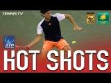 Hot Shot: Thiem Scrambles At Indian Wells 2017