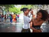 Salsa pura cubana en Paseo del Prado de La Habana
