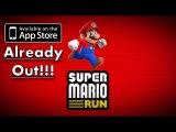 SUPER MARIO RUN IN APPSTORE!