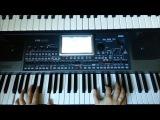 Дискотека группа Звёзды Korg Pa900Pa600 Style DJ2