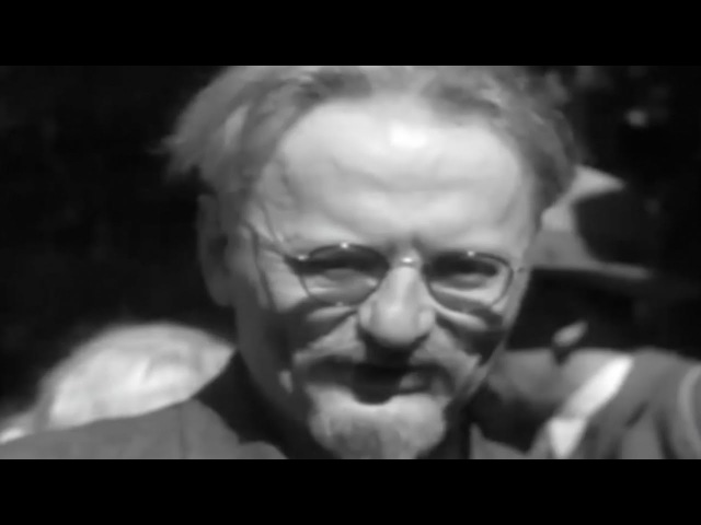 Leon Trotsky, Russian revolutionary, founder of Red army, documentary, HD1080