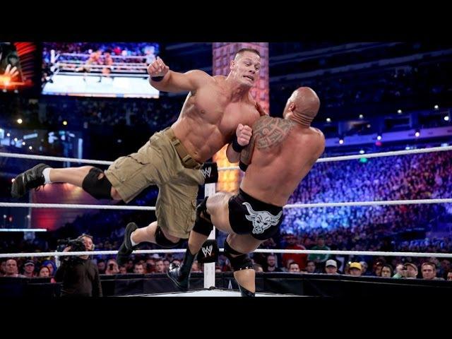 The Rock vs. John Cena: WWE Championship Match: at WrestleMania 29