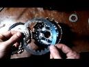 разбор и сбор сцепления двигатель 164fml или стелс флейм 200