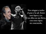 Joan Manuel Serrat Ft. Calle 13 - Algo Personal (con Letra)