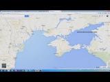 Метаморфозы Интернета в разных странах на примере границы с Крымом (сентябрь, 2014)