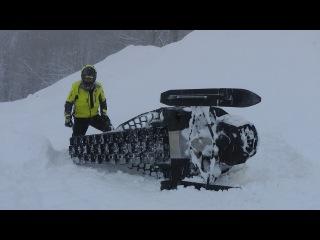 На снегоходах по горам Красной Поляны