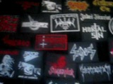 THRASH BLACK METAL PATCHES PATCH JACKET