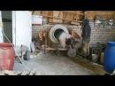 Веселая карусель в бетономешалке