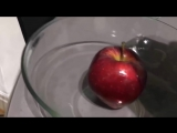 клуб ГРАvitaЦИЯ что будет если яблоко из супермаркета облить кипятком