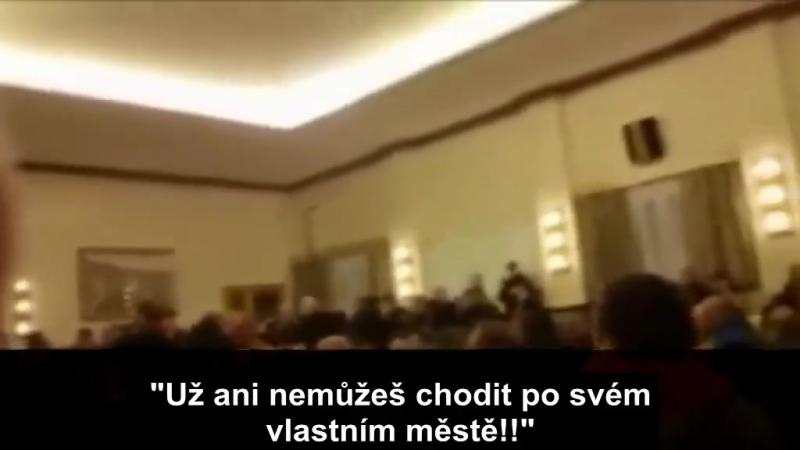 Takto mluví multikulti zmanipulovaný starosta_K tomu není možno přidat slušný... - Organizace proti multikulturnímu fanatismu