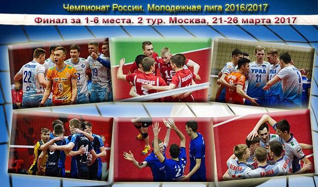 Второй этап финального турнира Чемпионата России Молодежной лиги 2016/2017, г. Москва
