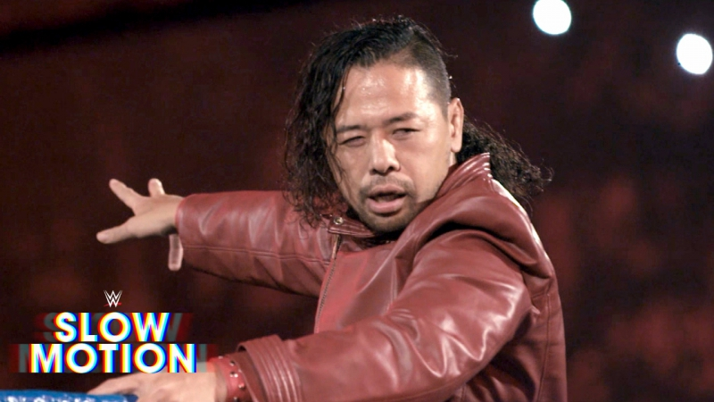 [WWE QTV[Smack Down]☆[See Shinsuke Nakamura introduce Dolph Ziggler to Strong Style in[slow motion]☆[Слоу Моушен]☆[