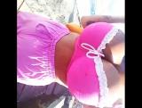 https://vk.com/gr_emma Walk on the beach with big tits