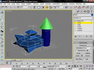 Begin with 3dsMAx