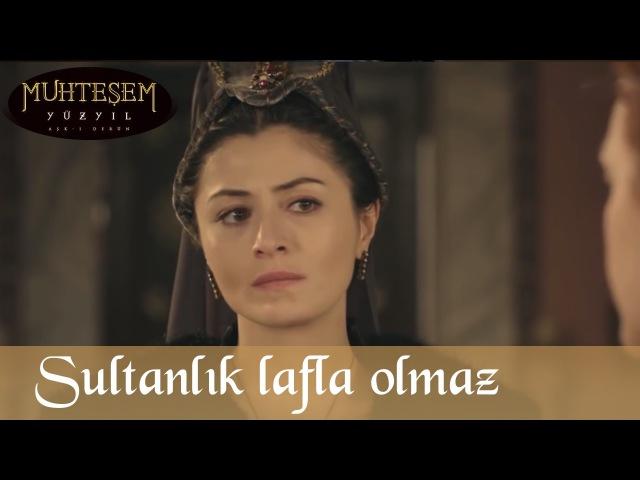 Sultanlık Lafla Değil Kanla Olur - Muhteşem Yüzyıl 87.Bölüm