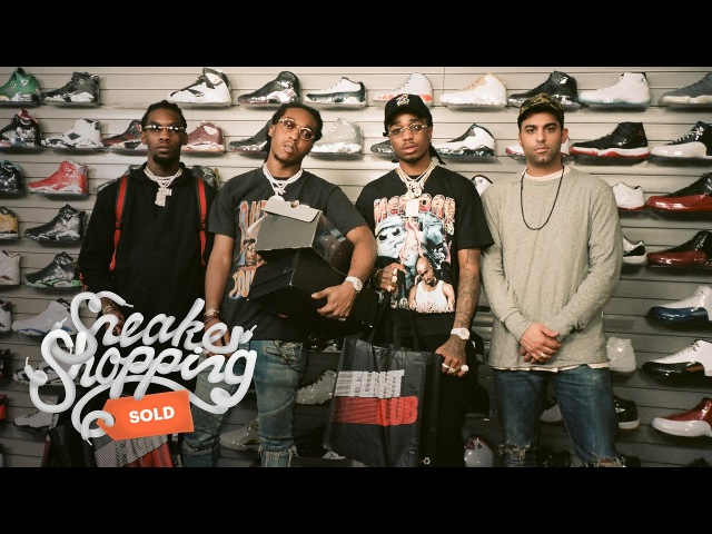 Migos Goes Sneaker Shopping with Complex