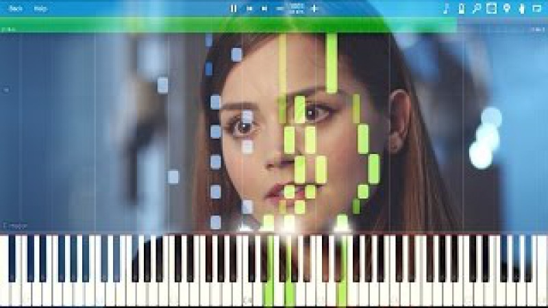 Remember me Clara? (Clara's Theme) - Doctor Who [Synthesia Piano Tutorial]