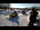 Ямаха против Тайга. Snowmobiles Yamaha vs Tayga