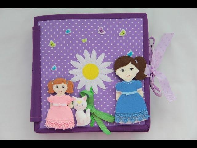 Развивающая книжка 2 Кукольный дом / Quiet book 2 A Doll's House