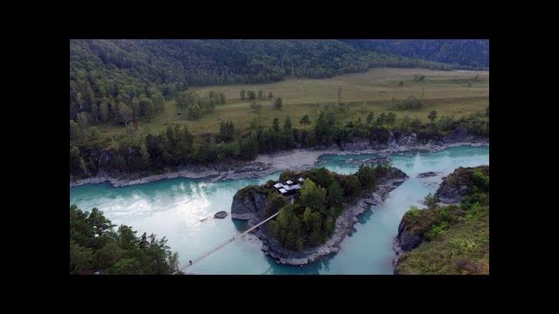 Чемальский остров Патмос на реке Катунь