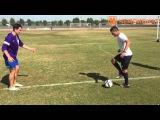 5 упражнений на технику владения мячом. Финт Попова   Чемпионат
